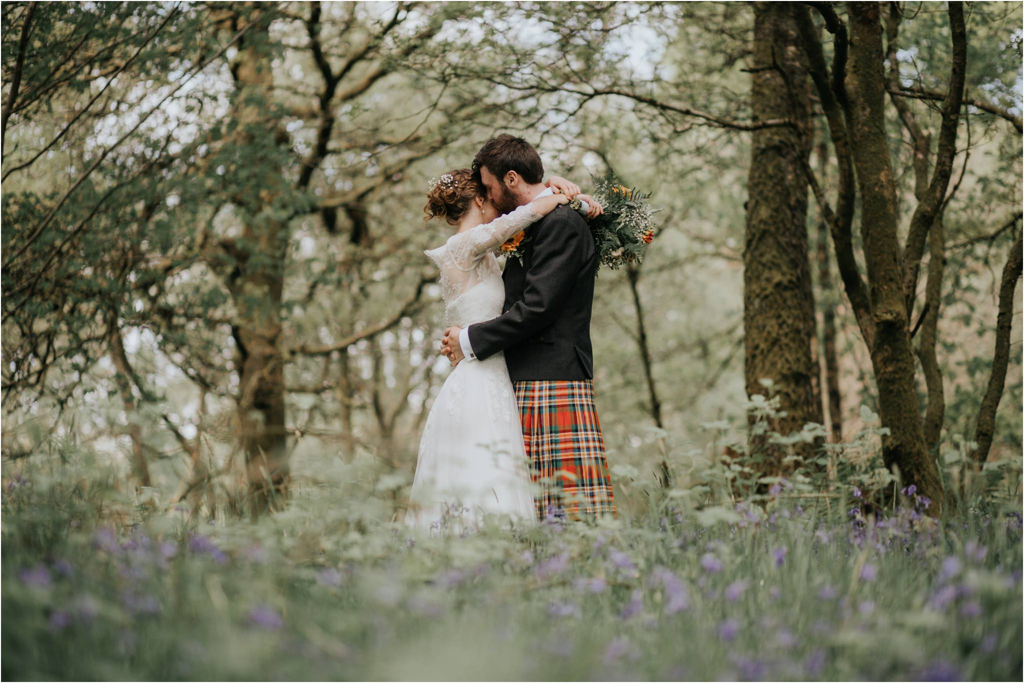 Photography 78 - Glasgow Wedding Photographer - Fraser Thirza - Killearn Village Hall - Three Sisters Bake Wedding_0097.jpg