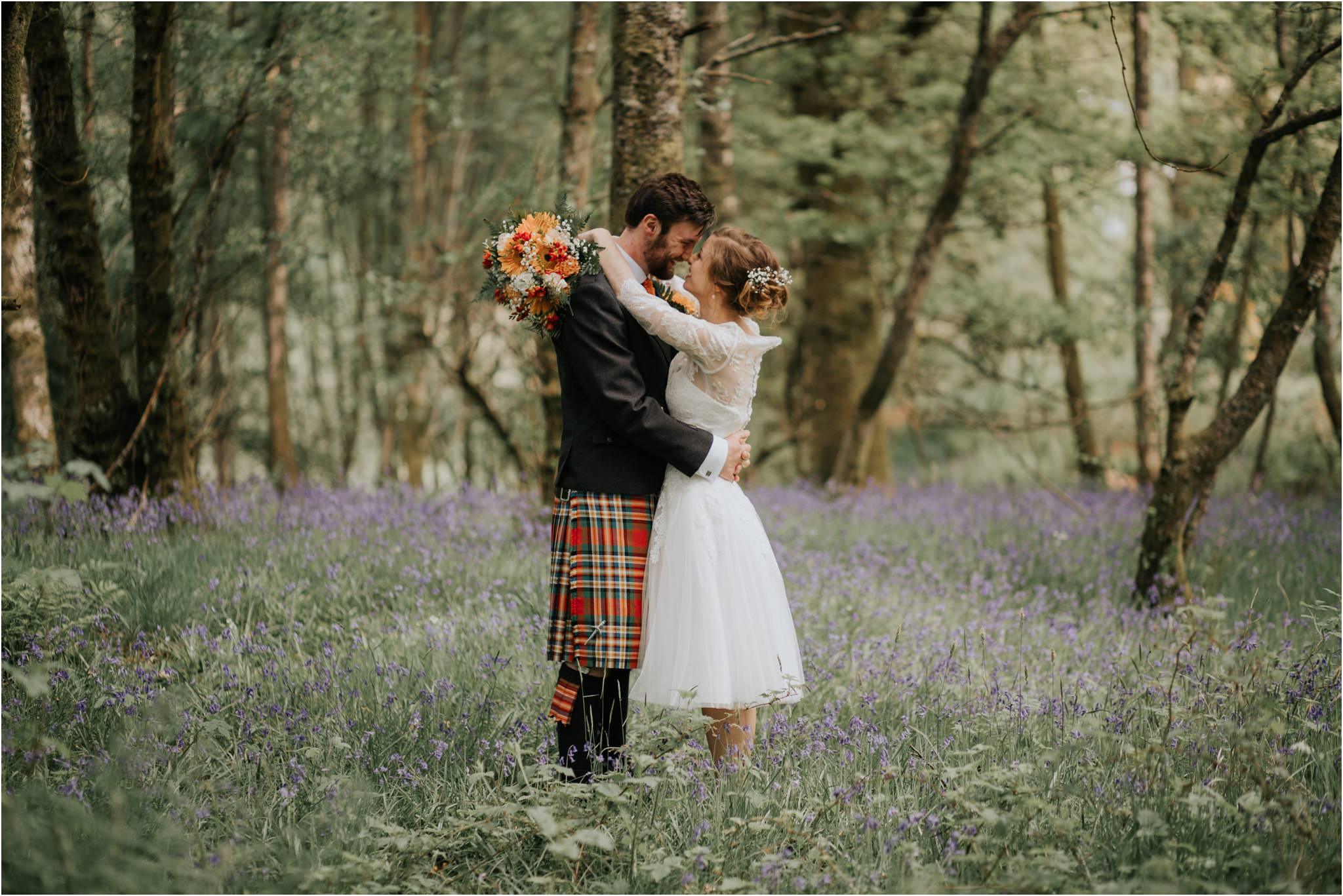 Photography 78 - Glasgow Wedding Photographer - Fraser Thirza - Killearn Village Hall - Three Sisters Bake Wedding_0099.jpg