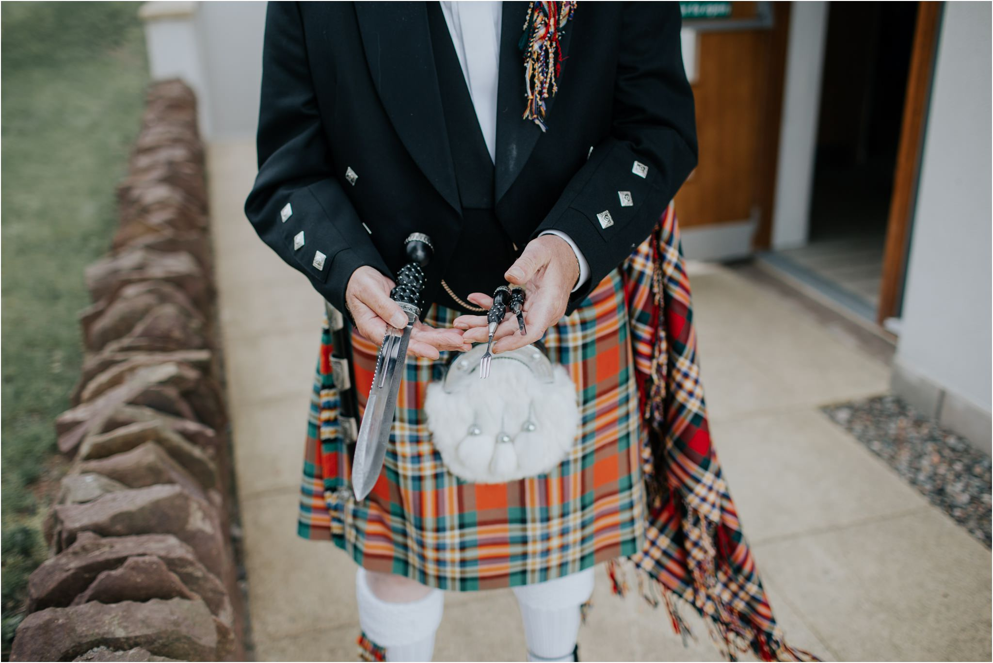 Photography 78 - Glasgow Wedding Photographer - Fraser Thirza - Killearn Village Hall - Three Sisters Bake Wedding_0119.jpg