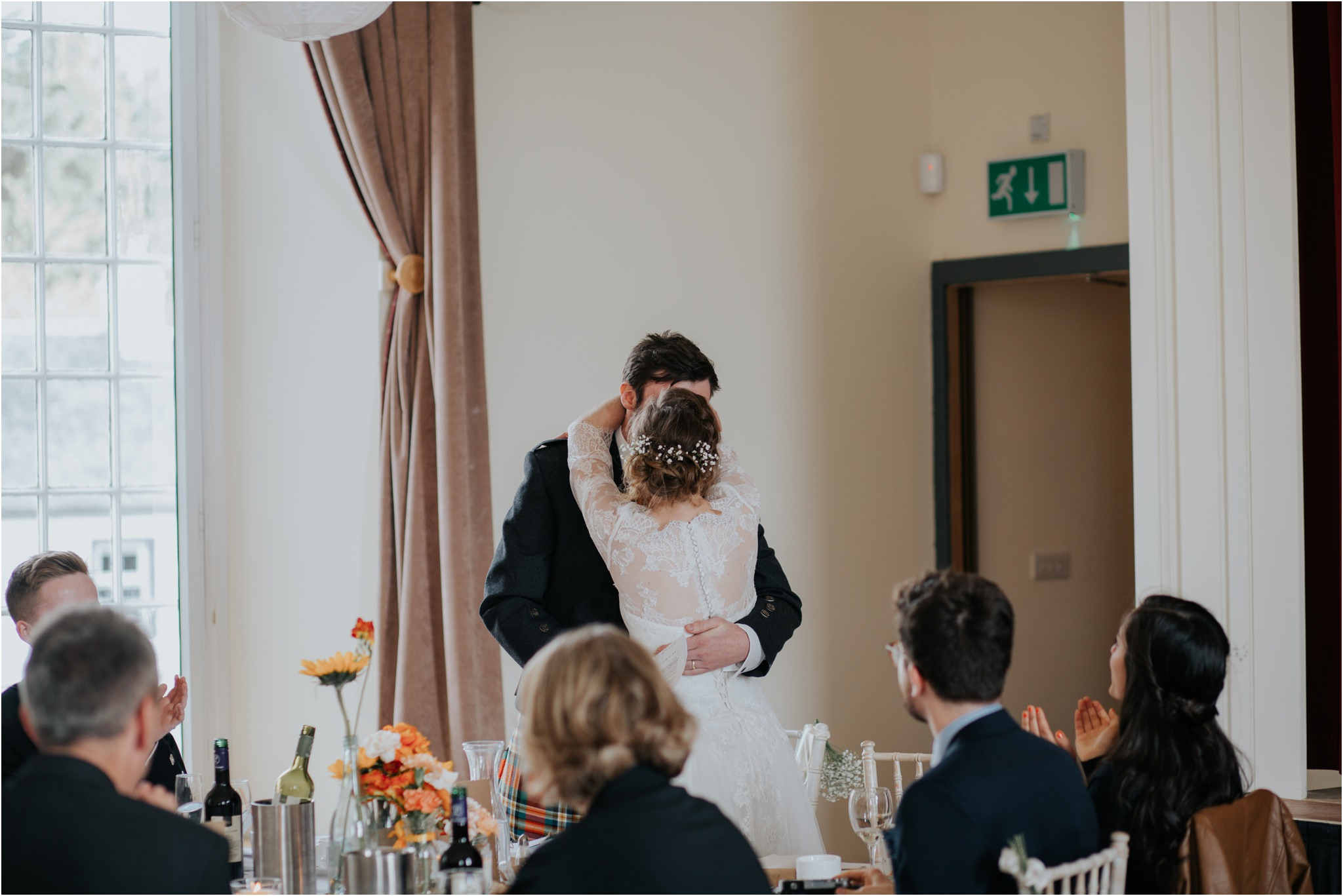 Photography 78 - Glasgow Wedding Photographer - Fraser Thirza - Killearn Village Hall - Three Sisters Bake Wedding_0128.jpg