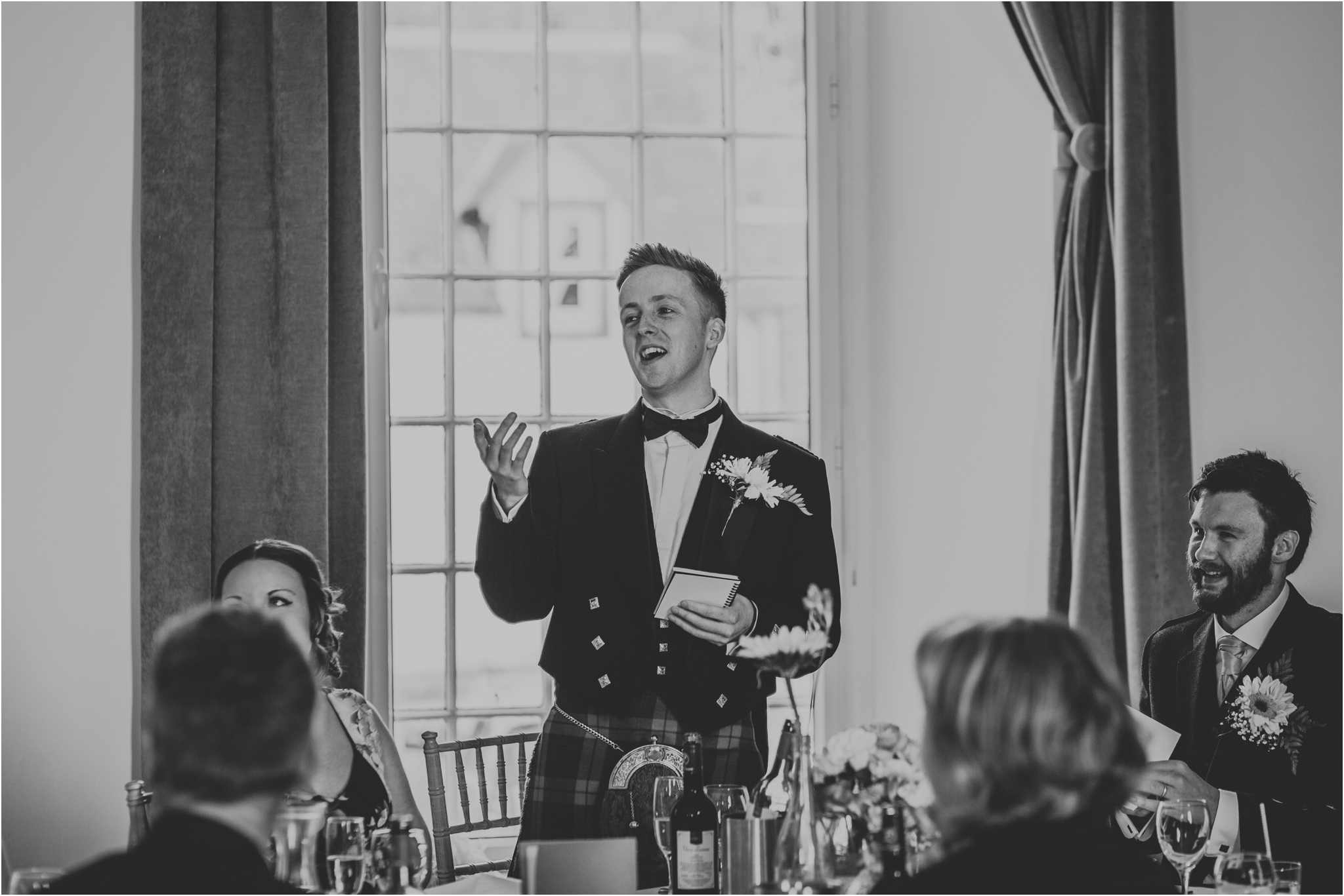 Photography 78 - Glasgow Wedding Photographer - Fraser Thirza - Killearn Village Hall - Three Sisters Bake Wedding_0129.jpg
