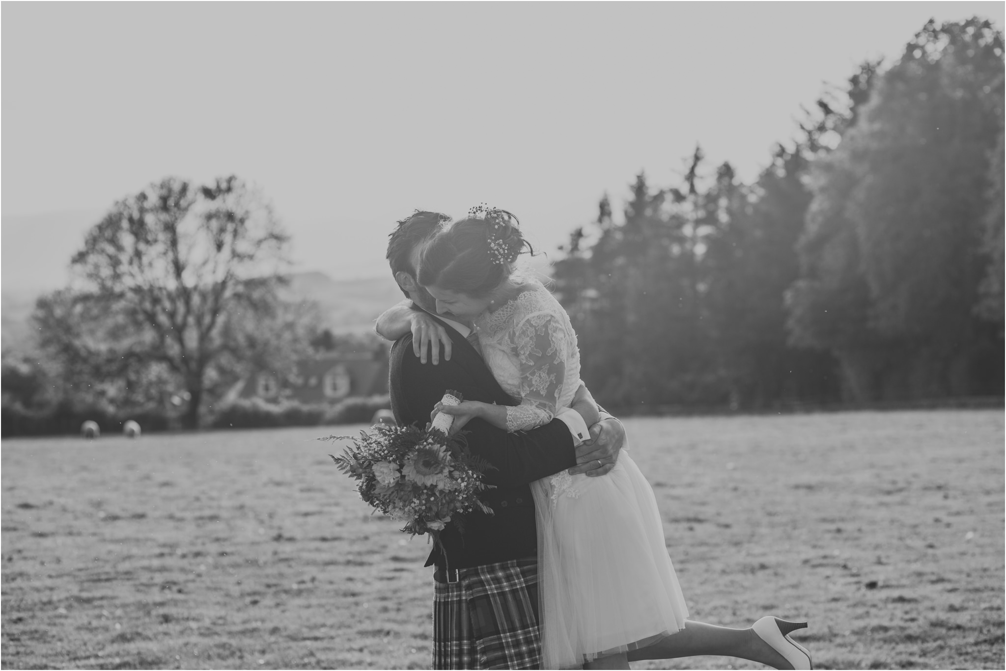 Photography 78 - Glasgow Wedding Photographer - Fraser Thirza - Killearn Village Hall - Three Sisters Bake Wedding_0150.jpg
