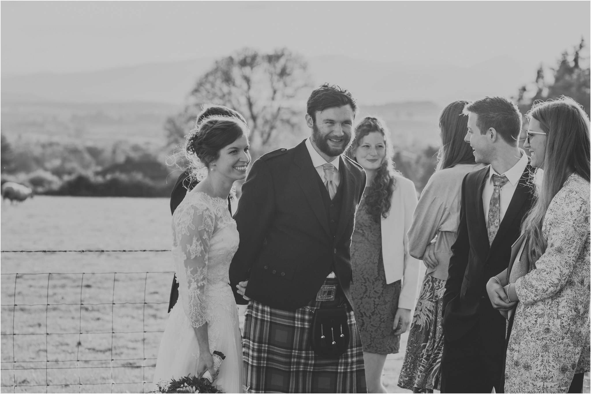 Photography 78 - Glasgow Wedding Photographer - Fraser Thirza - Killearn Village Hall - Three Sisters Bake Wedding_0155.jpg