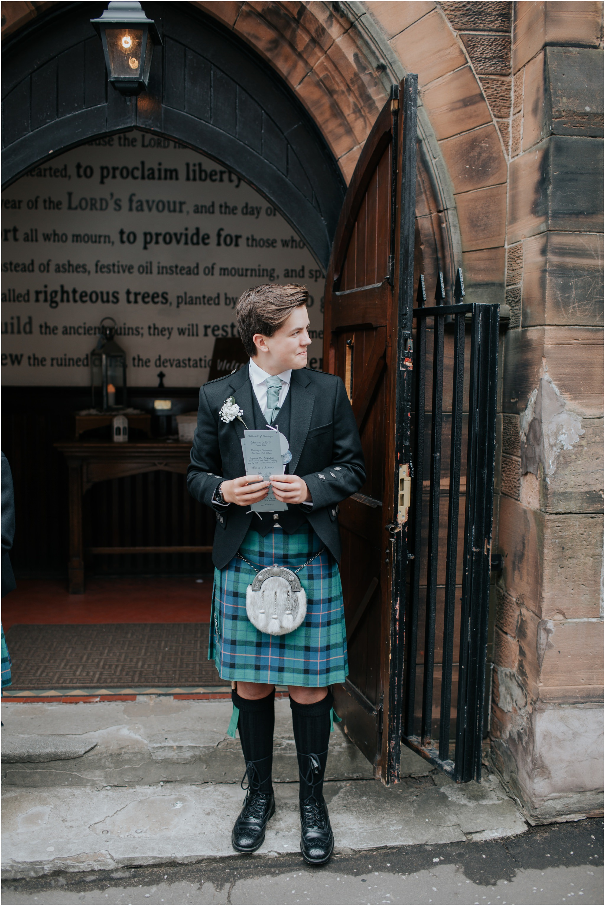 Photography 78 - Glasgow Wedding Photographer - Jordan & Abi - The Waterside Hotel, West Kilbride_0034.jpg