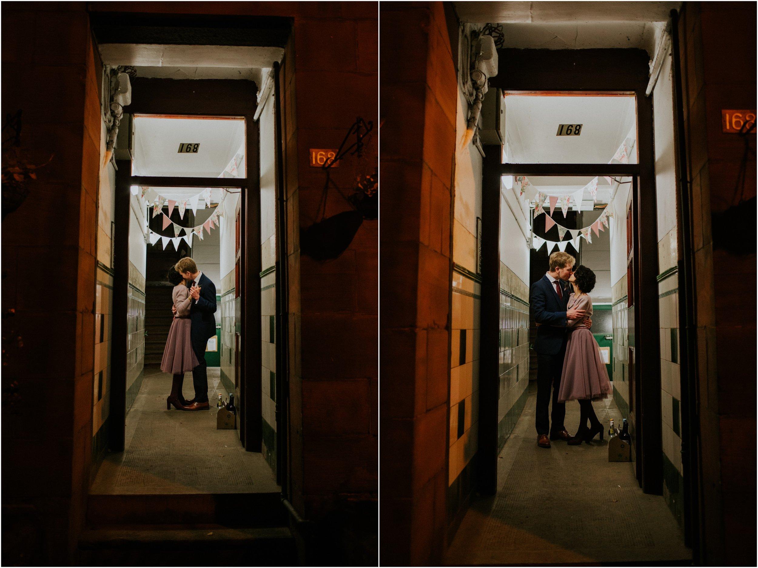 Photography 78 - Glasgow Wedding Photographer - Mike & Karol - Ubiquitous Chip Ashton Lane_0085.jpg