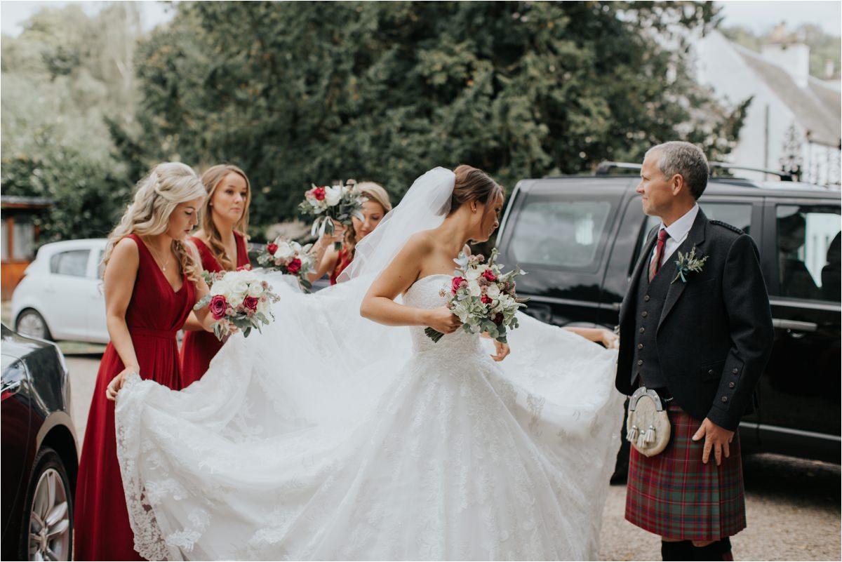 Photography 78 - Glasgow Wedding Photographer -Jonathan & Corrie's Garden Wedding in Aberfeldy - Dunkeld Cathedral_0050.jpg