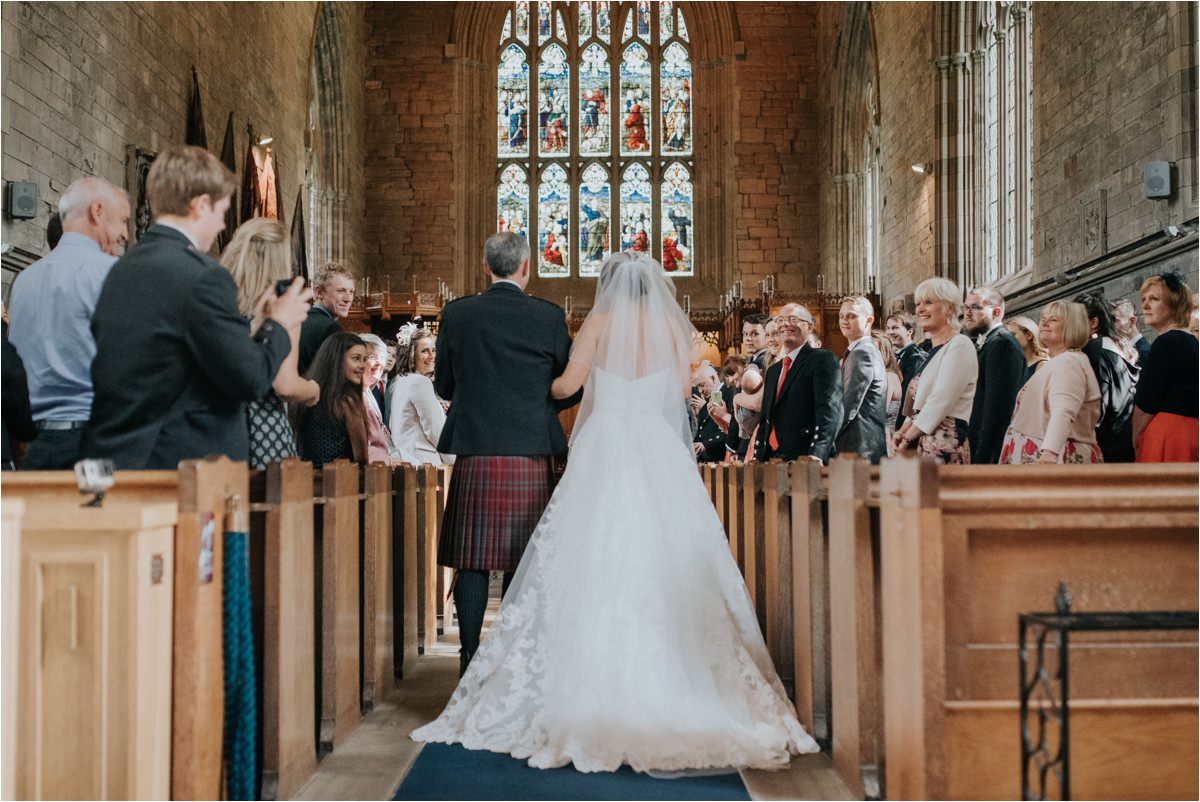 Photography 78 - Glasgow Wedding Photographer -Jonathan & Corrie's Garden Wedding in Aberfeldy - Dunkeld Cathedral_0055.jpg