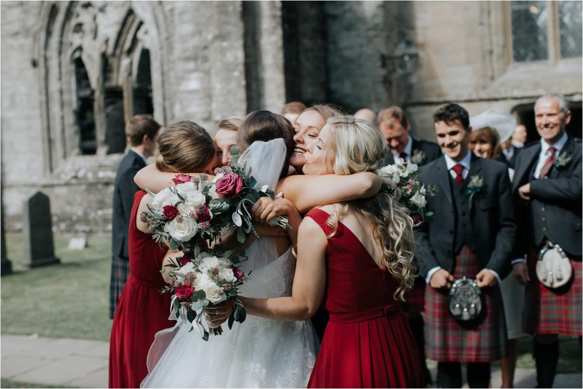 Photography 78 - Glasgow Wedding Photographer -Jonathan & Corrie's Garden Wedding in Aberfeldy - Dunkeld Cathedral_0071.jpg