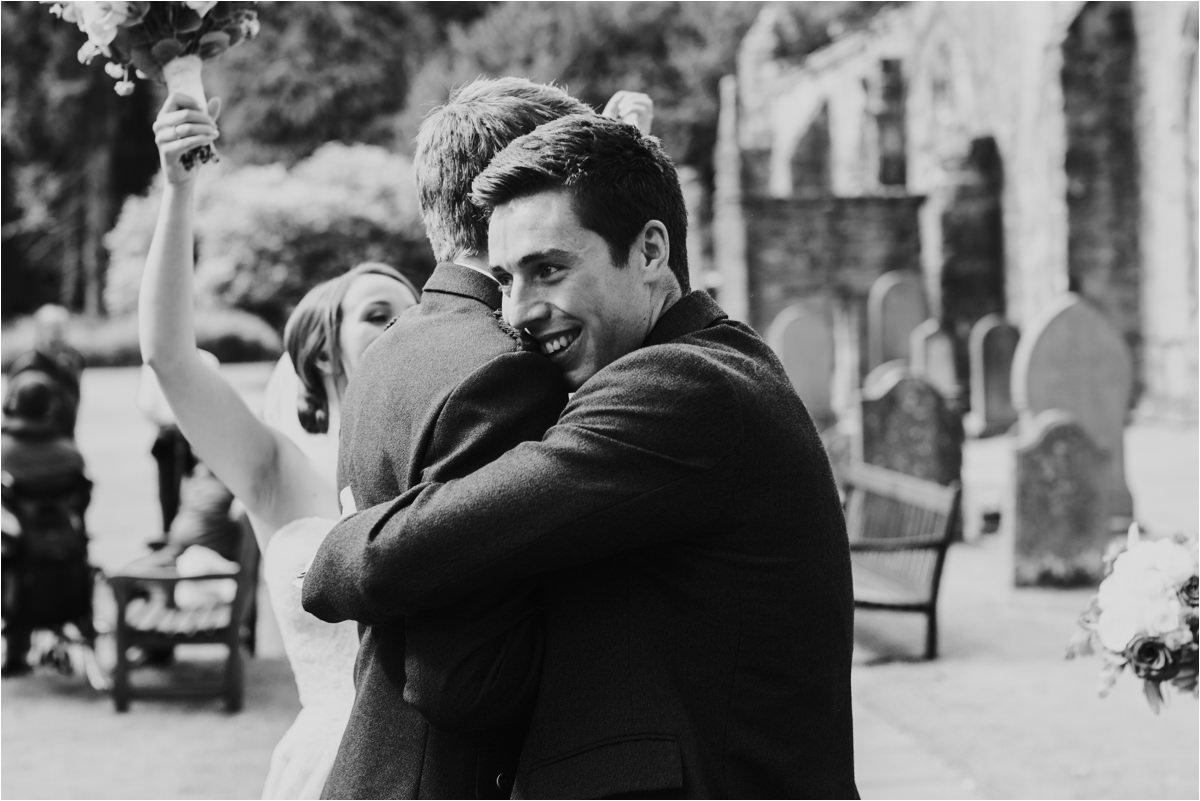 Photography 78 - Glasgow Wedding Photographer -Jonathan & Corrie's Garden Wedding in Aberfeldy - Dunkeld Cathedral_0072.jpg