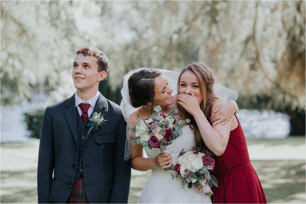Photography 78 - Glasgow Wedding Photographer -Jonathan & Corrie's Garden Wedding in Aberfeldy - Dunkeld Cathedral_0074.jpg