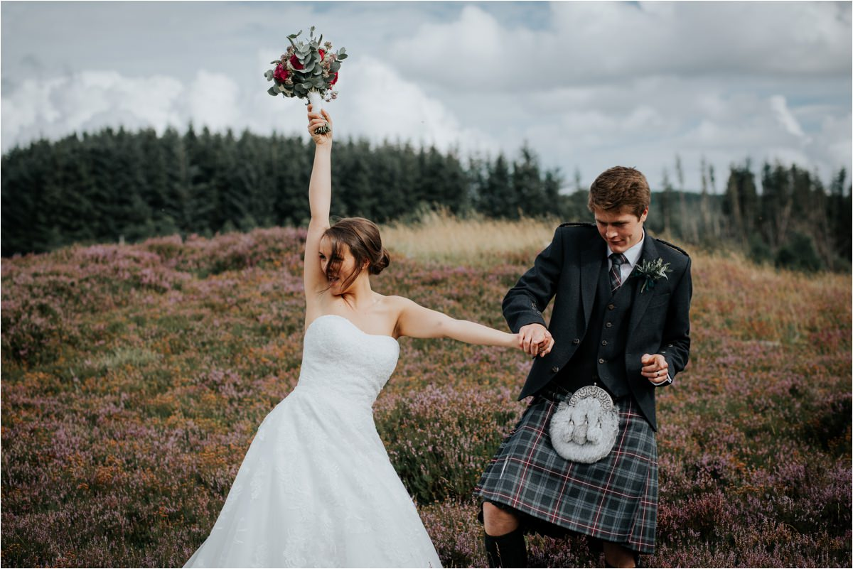 Photography 78 - Glasgow Wedding Photographer -Jonathan & Corrie's Garden Wedding in Aberfeldy - Dunkeld Cathedral_0080.jpg