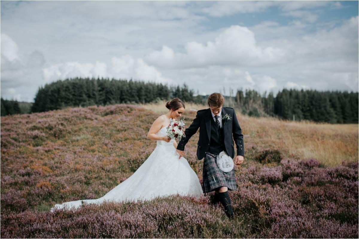 Photography 78 - Glasgow Wedding Photographer -Jonathan & Corrie's Garden Wedding in Aberfeldy - Dunkeld Cathedral_0081.jpg