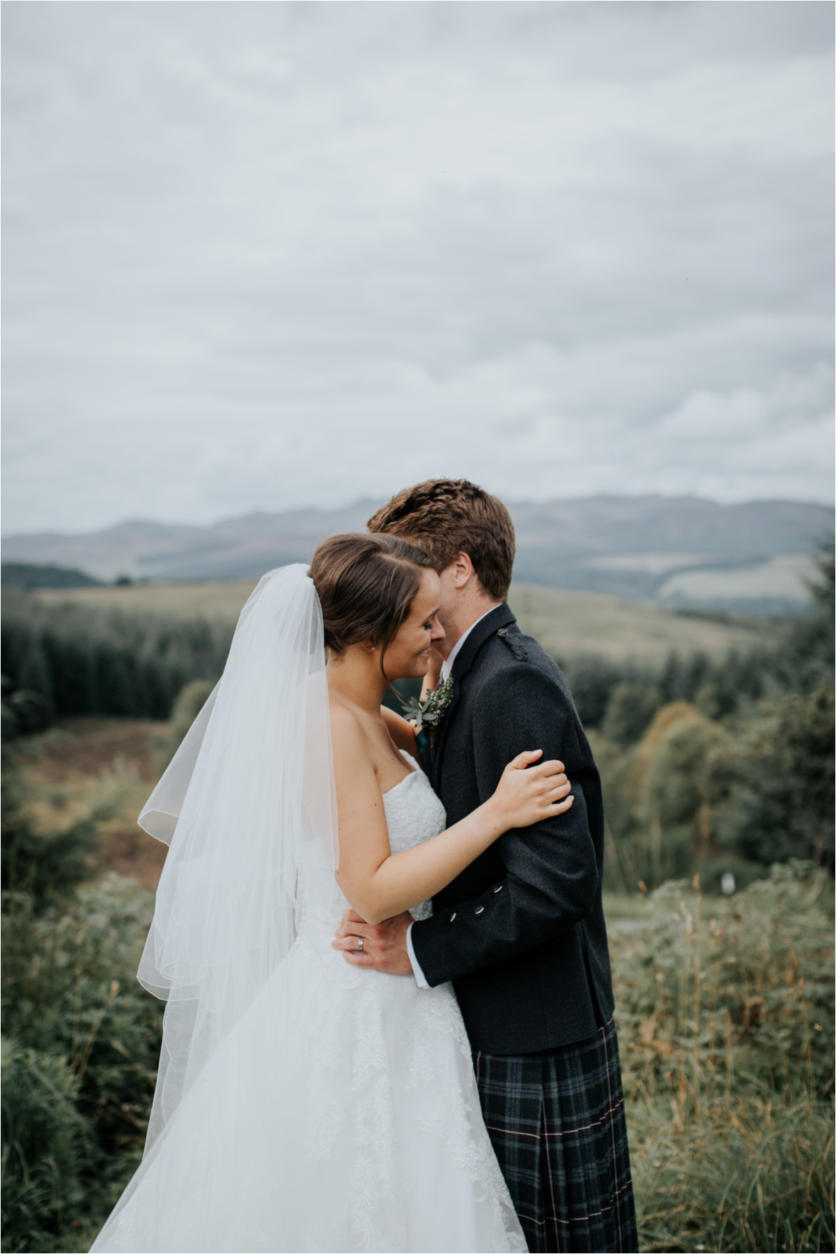 Photography 78 - Glasgow Wedding Photographer -Jonathan & Corrie's Garden Wedding in Aberfeldy - Dunkeld Cathedral_0082.jpg