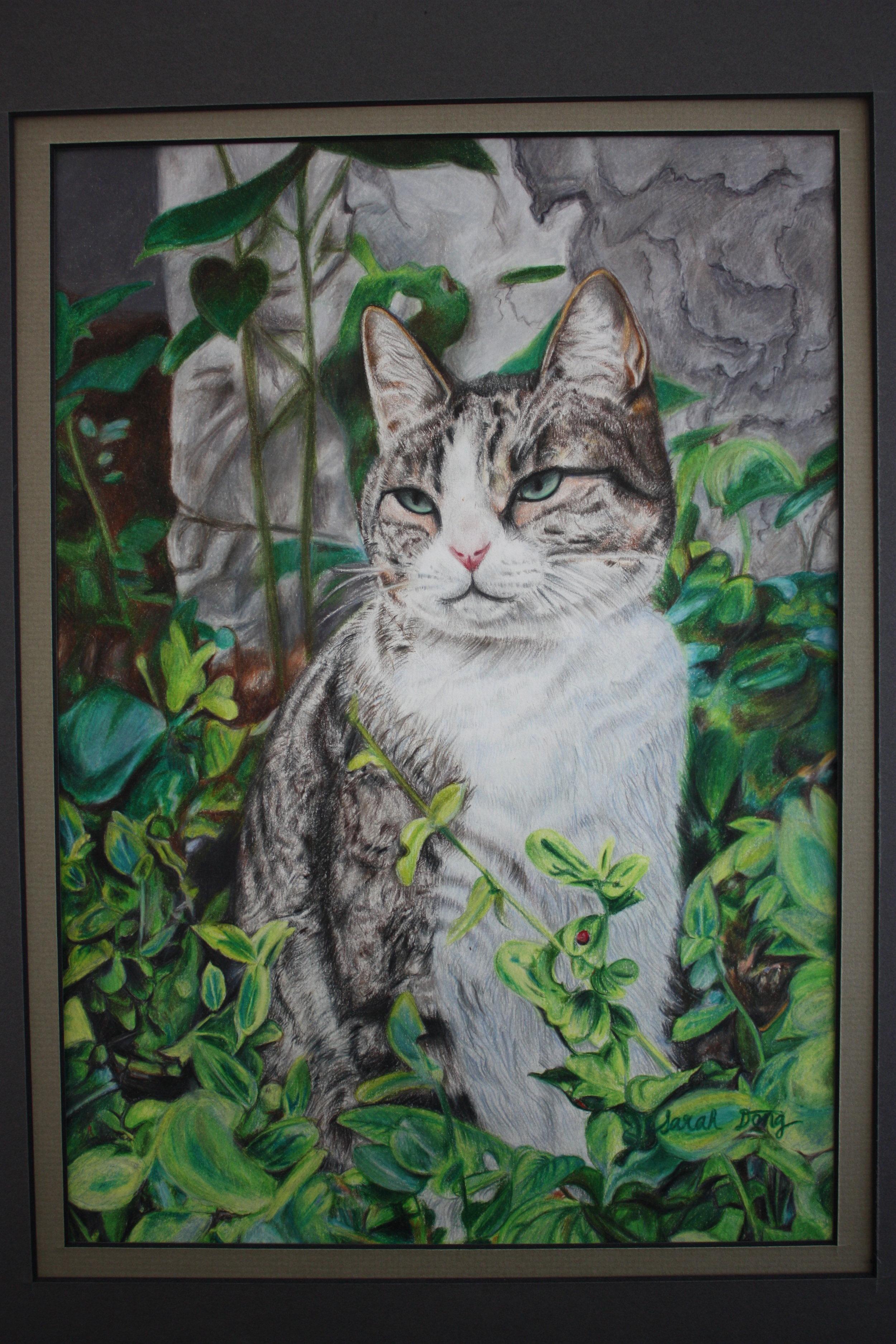 Sarah Dong_ 15_ Cat in Paris _US Arts.JPG
