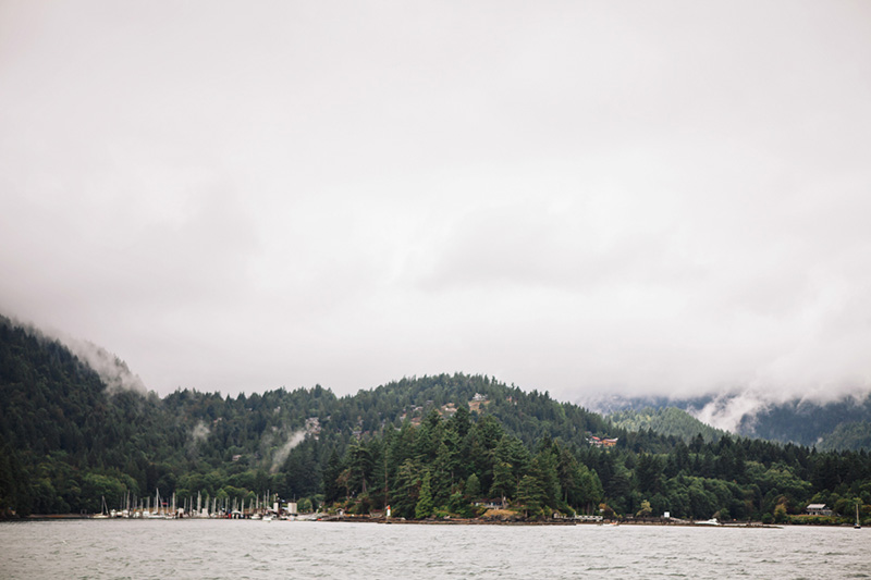 bowen island view from ferry
