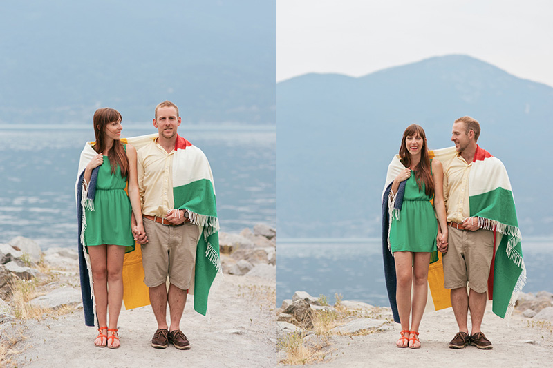 Whistler engagement photography