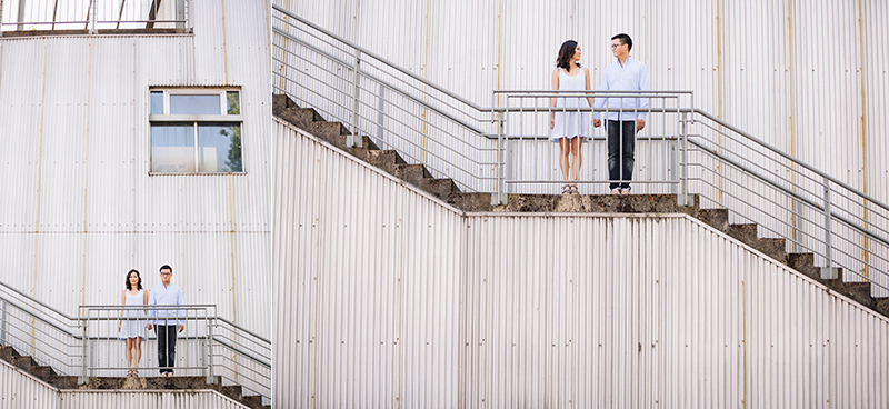 Engagement Photography Granville Island