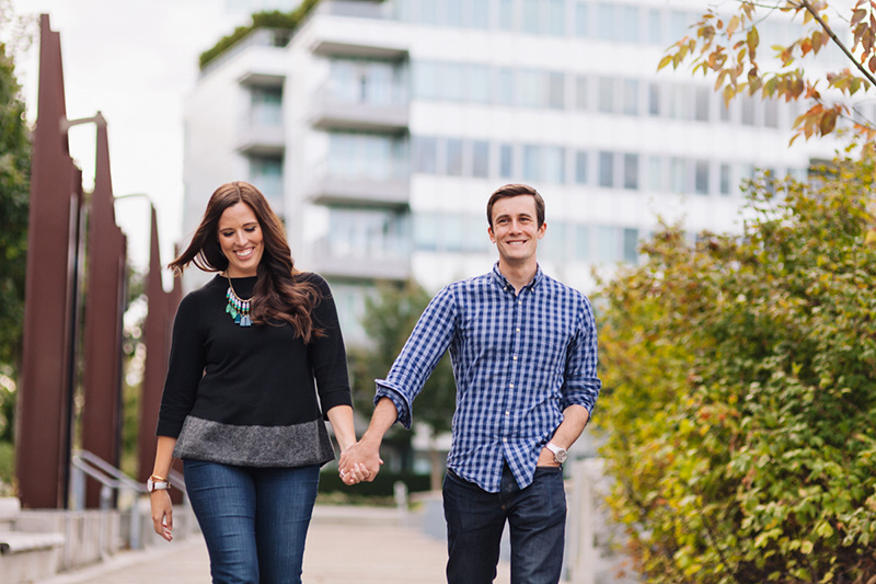 Olympic Village Engagement Photography