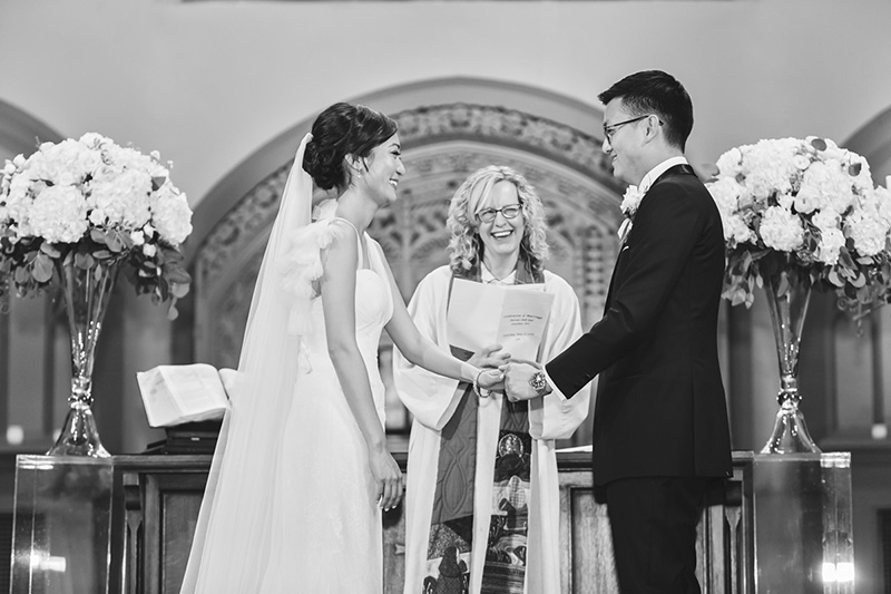 bride and groom vows