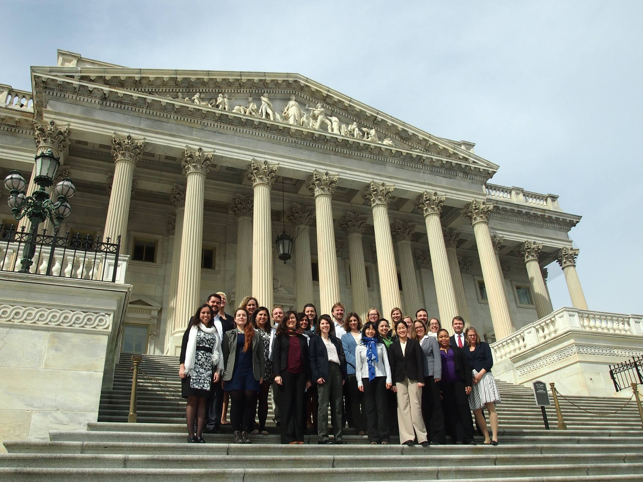 As part of the Ocean Leadership Consortium, 2015 Marine Geosciences Leadership Symposium. Navarro participated in efforts to inform congressional members of the importance of science funding.