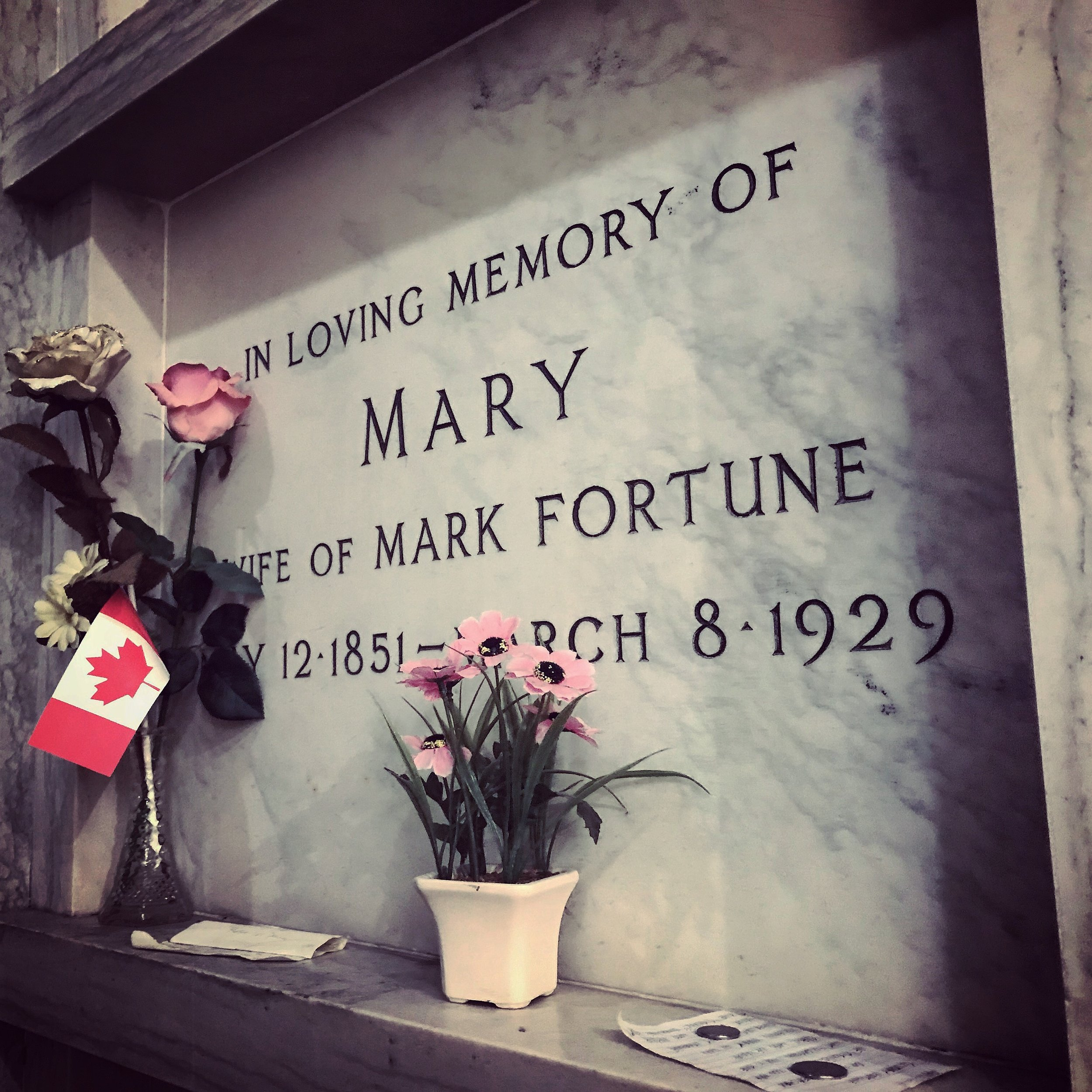 Mary Fortune's Crypt
