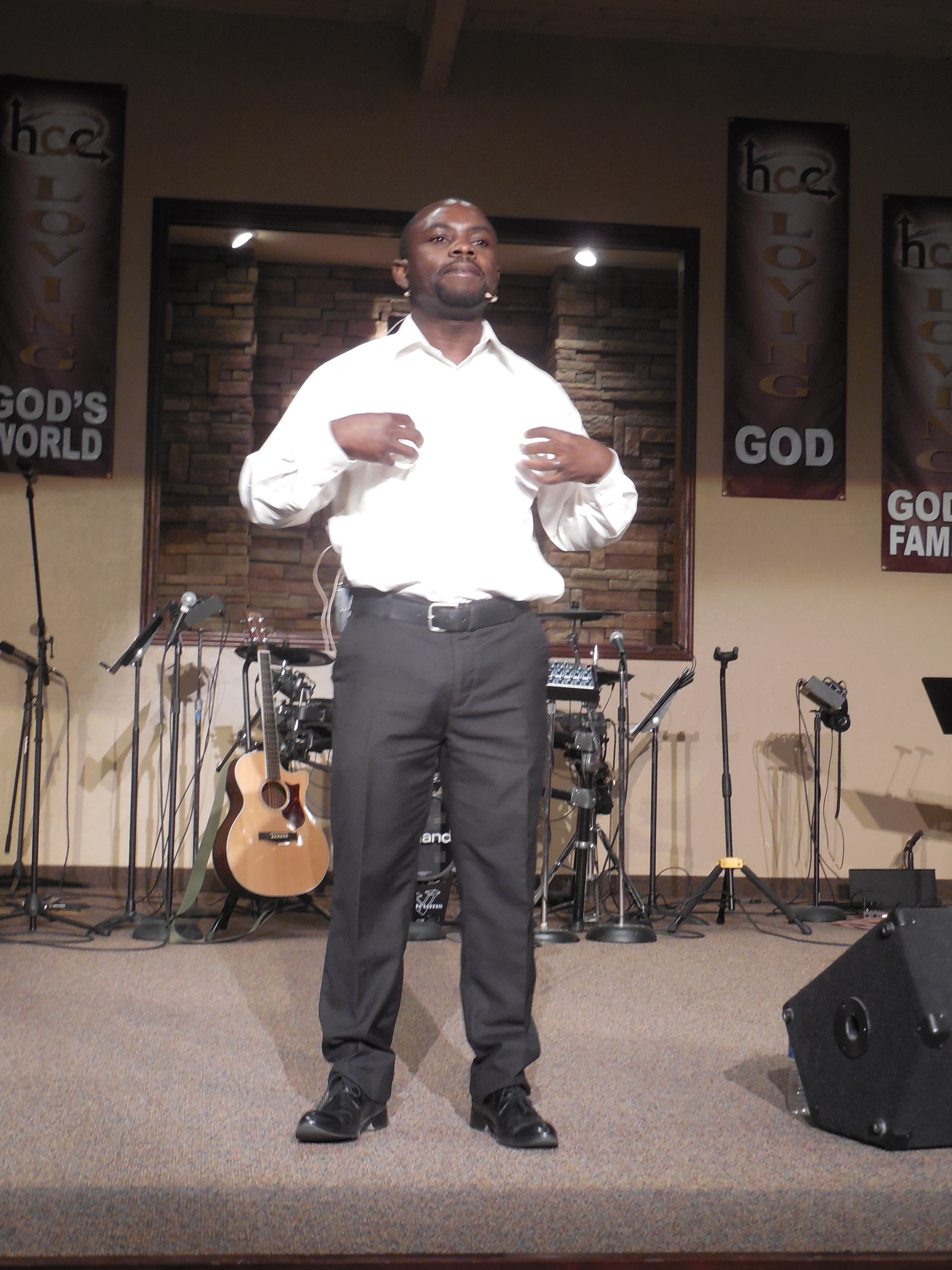 During a trip to Peoria, Arizona in May 2015 Mulenga was blessed to preach to the congregation of Horizons Community Church.