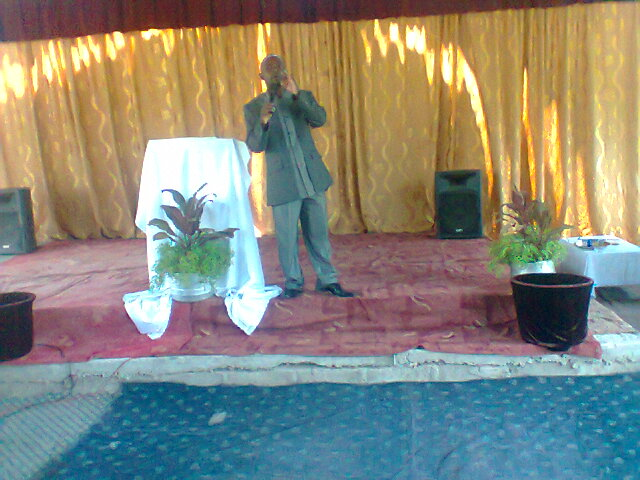 2012 Christmas season service at Bread of Life Church Mpatamato, Zambia.