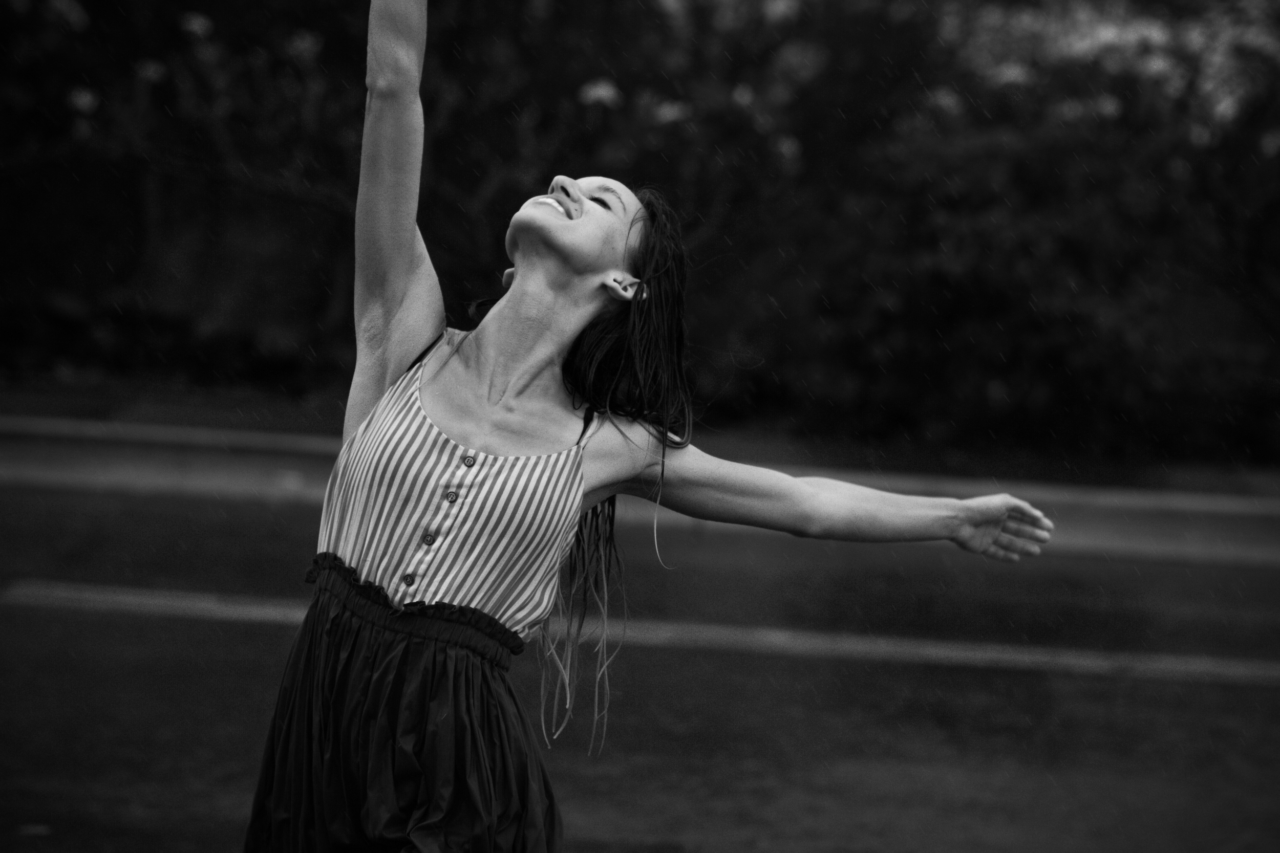 """"""" My personal desire for dance is to continue to encourage Christian dancers to keep pursuing dance in excellence and help them discover more of how their love for God and dance could and should be combined. I also want to join non Christian dance companies and simply be with dancers that don't know """""""