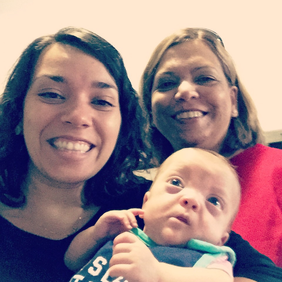 Abuela, Mommy and sweet Lucille :)