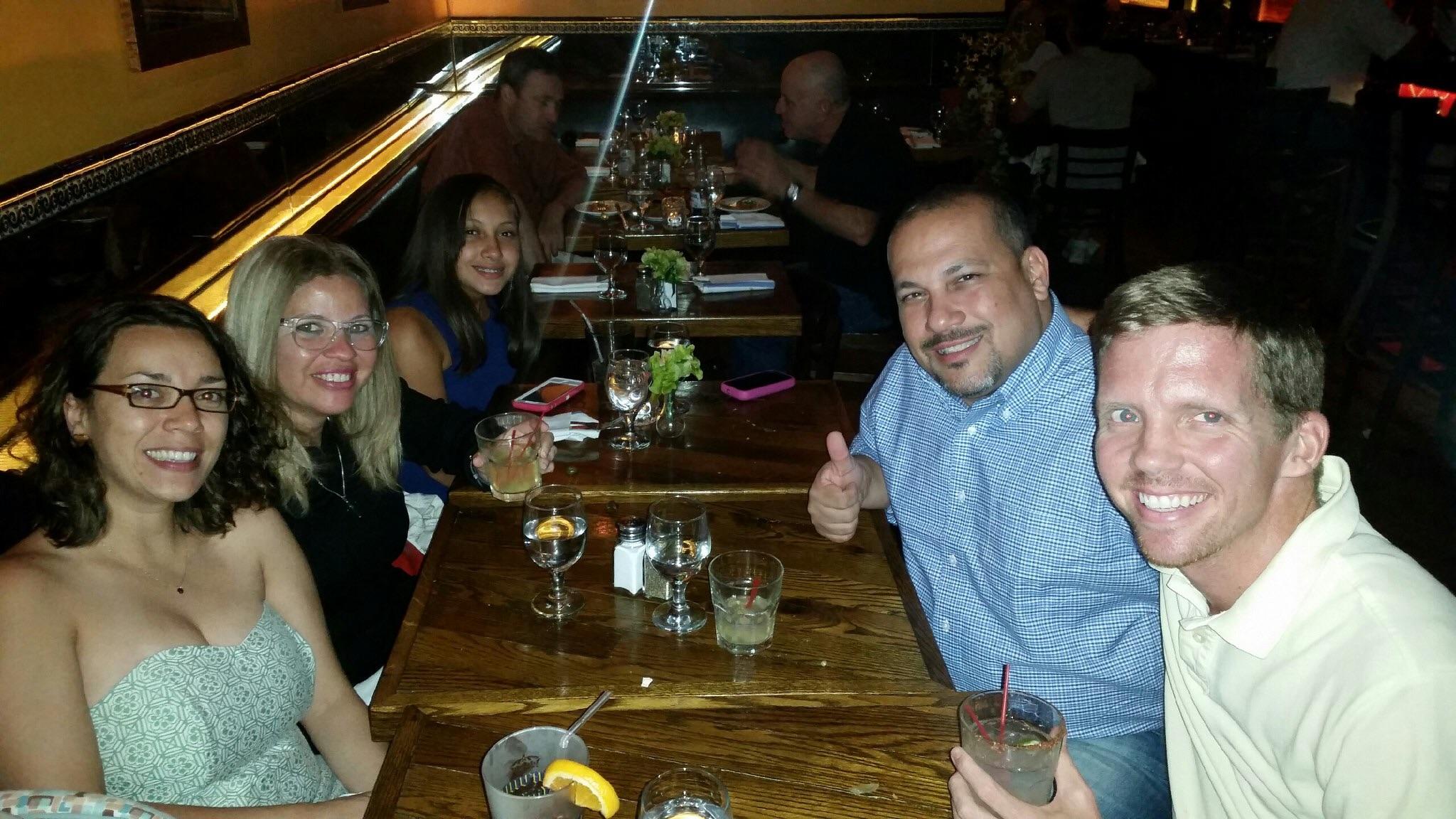 Dinner at Mole with La Familia :)