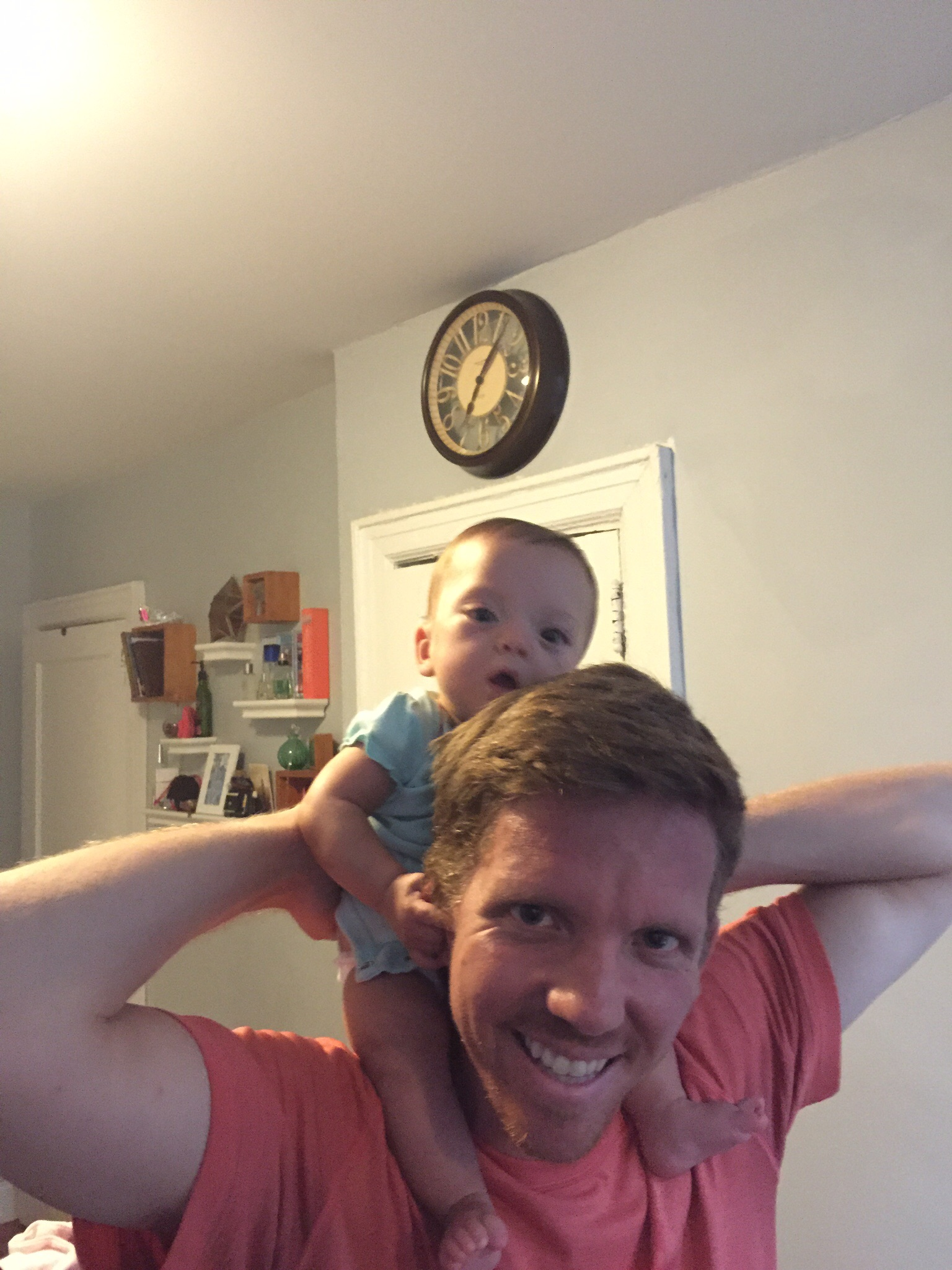 First piggy back ride! One of those little celebrations ;)