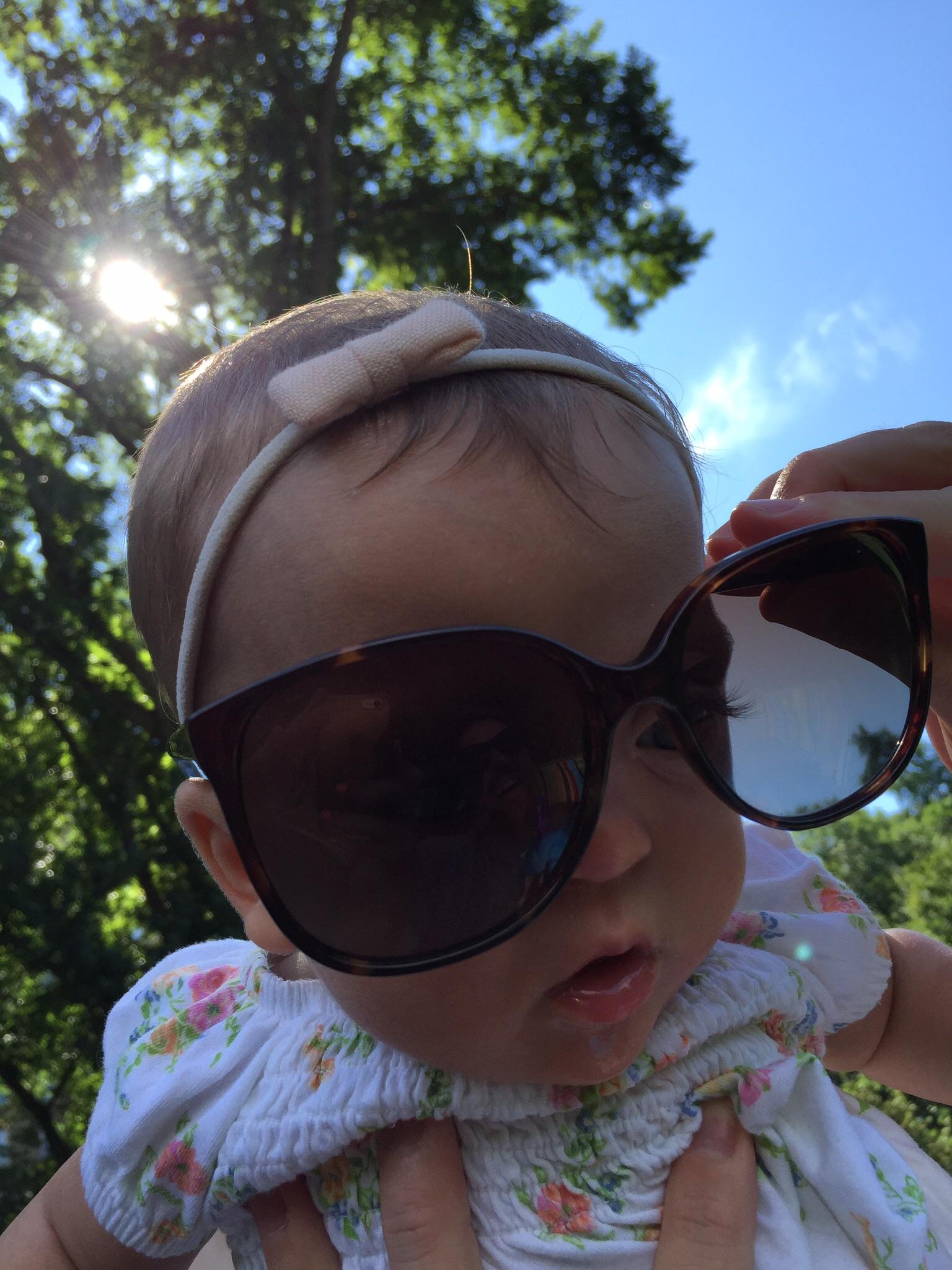 Sunshine in Central Park