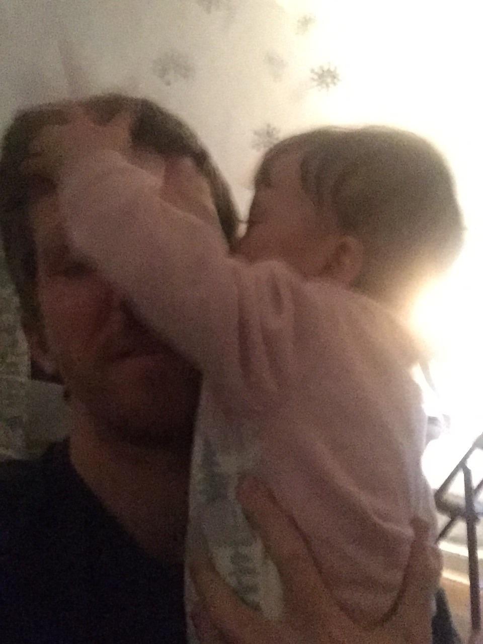 Oh the kissess lol. Sooooo slobbery.