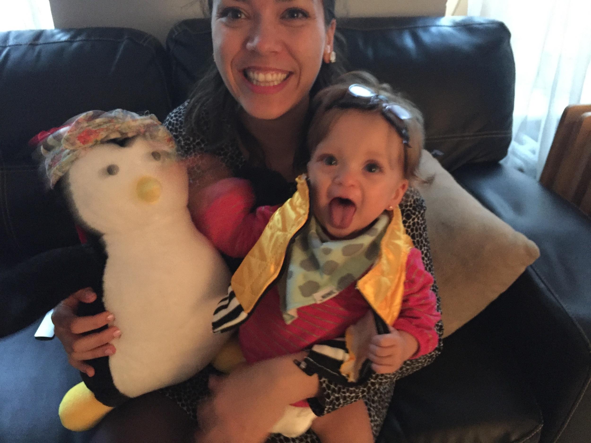 Hugsie and Lucie swap!