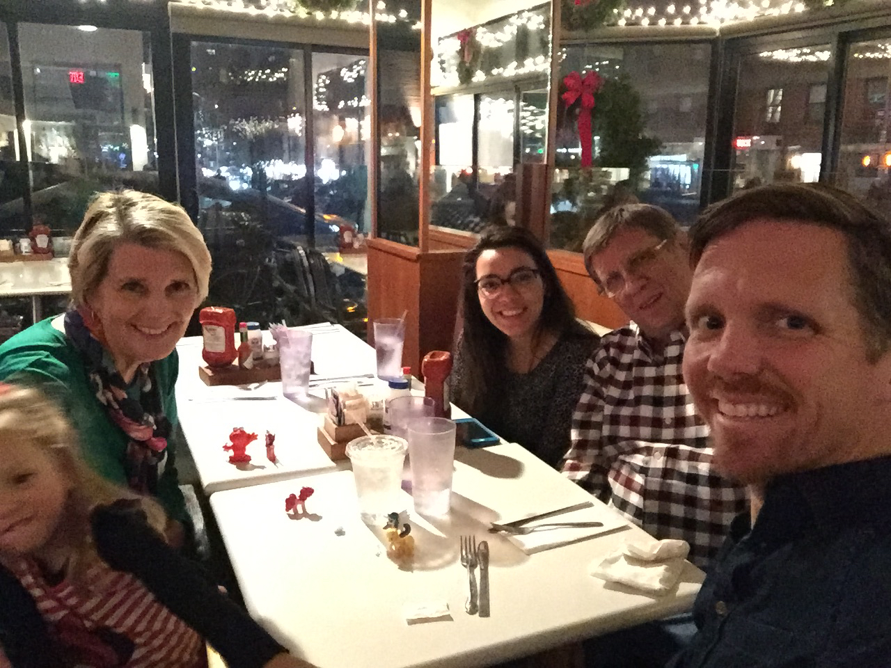 Came back and had breakfast for dinner at Midnight Diner, one of Rob's favorite places for pancakes.
