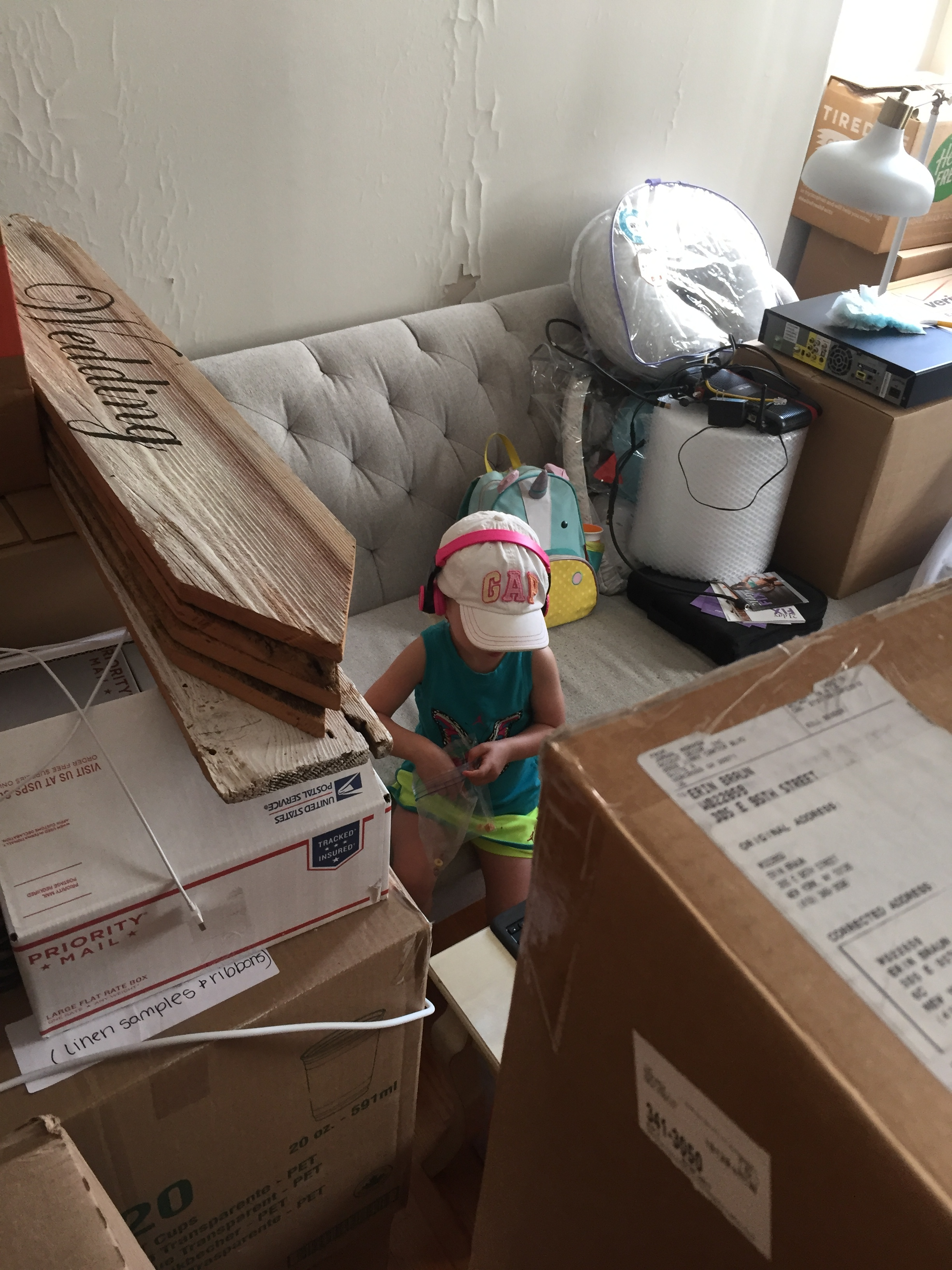 Moving day for the Brauns :(