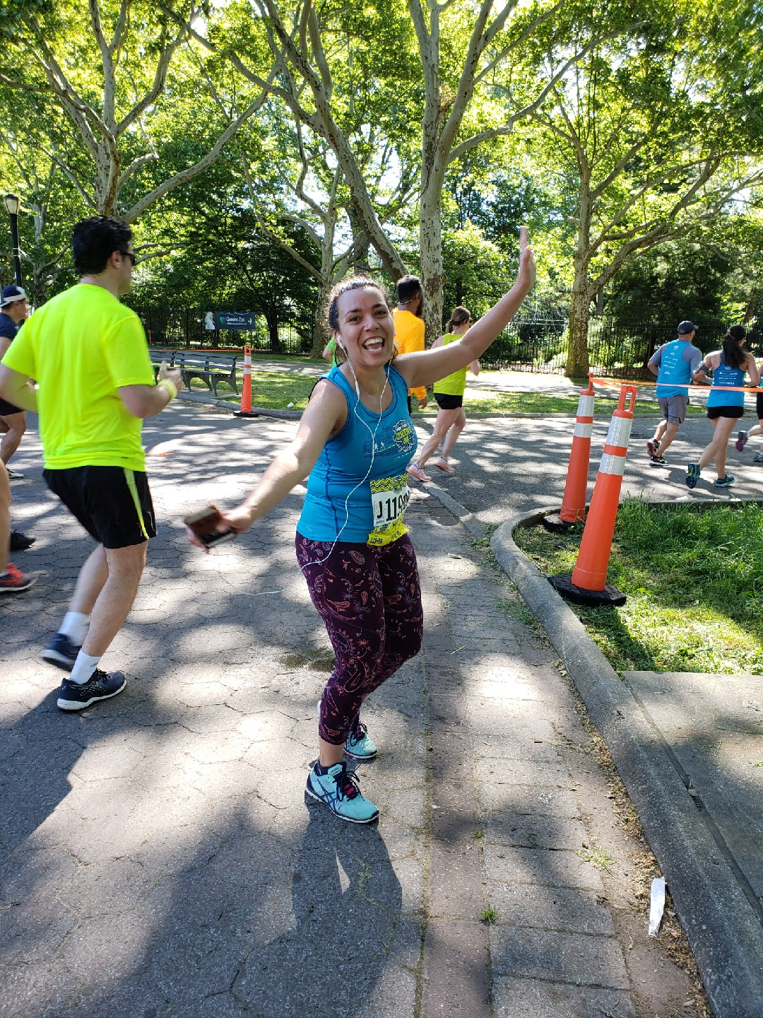 """Just for fun: """"Finishing that 5K was the hardest thing I have ever had to do. I ate more Fettuccini Alfredo and drank less water than I have in my entire life. People always talk about triumphs of the human spirit. Well, today, I had a triumph of the human body. That's why everybody was applauding for me at the end, my guts and my heart. And while I eventually puked my guts out, I never puked my heart out. I'm very, very proud of that."""" Michael Scott,  The Office ."""