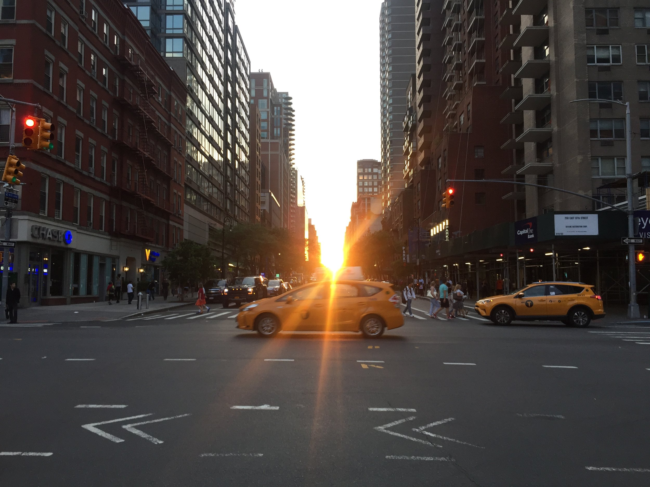 Summers in NYC  (bonus if you get a cab in your picture, right Jessa?)