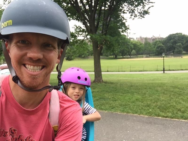 Bike rides through Central Park