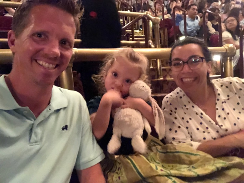 Boonches even got to enjoy the show! It was such a great performance, Lucie loved every minute of it. (We did too!)