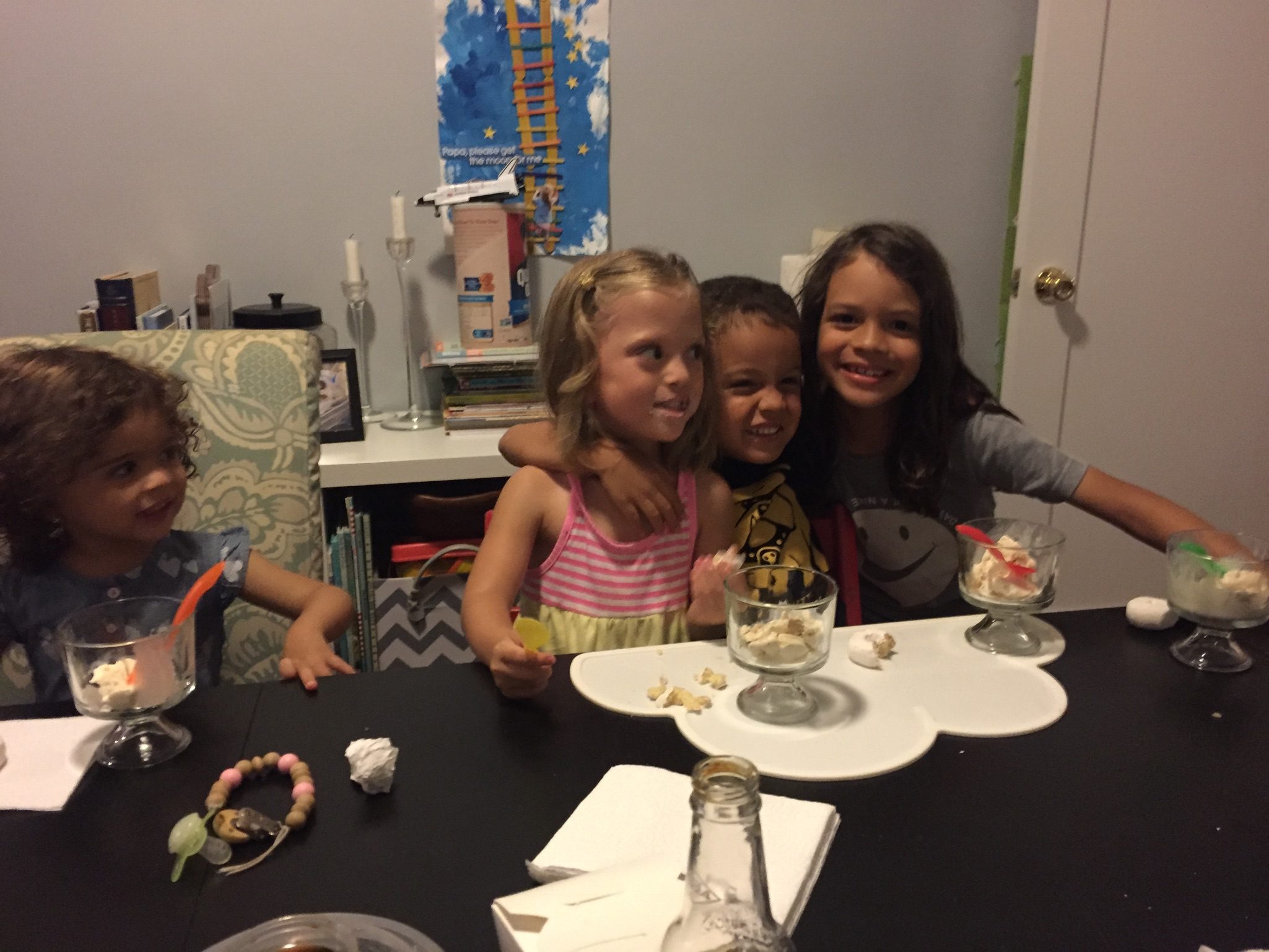 Fun Friday Night dinner with the Beltrez family!