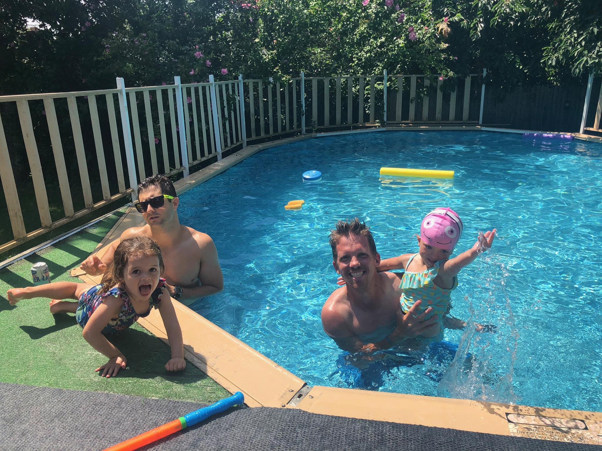 Even more fun in the pool