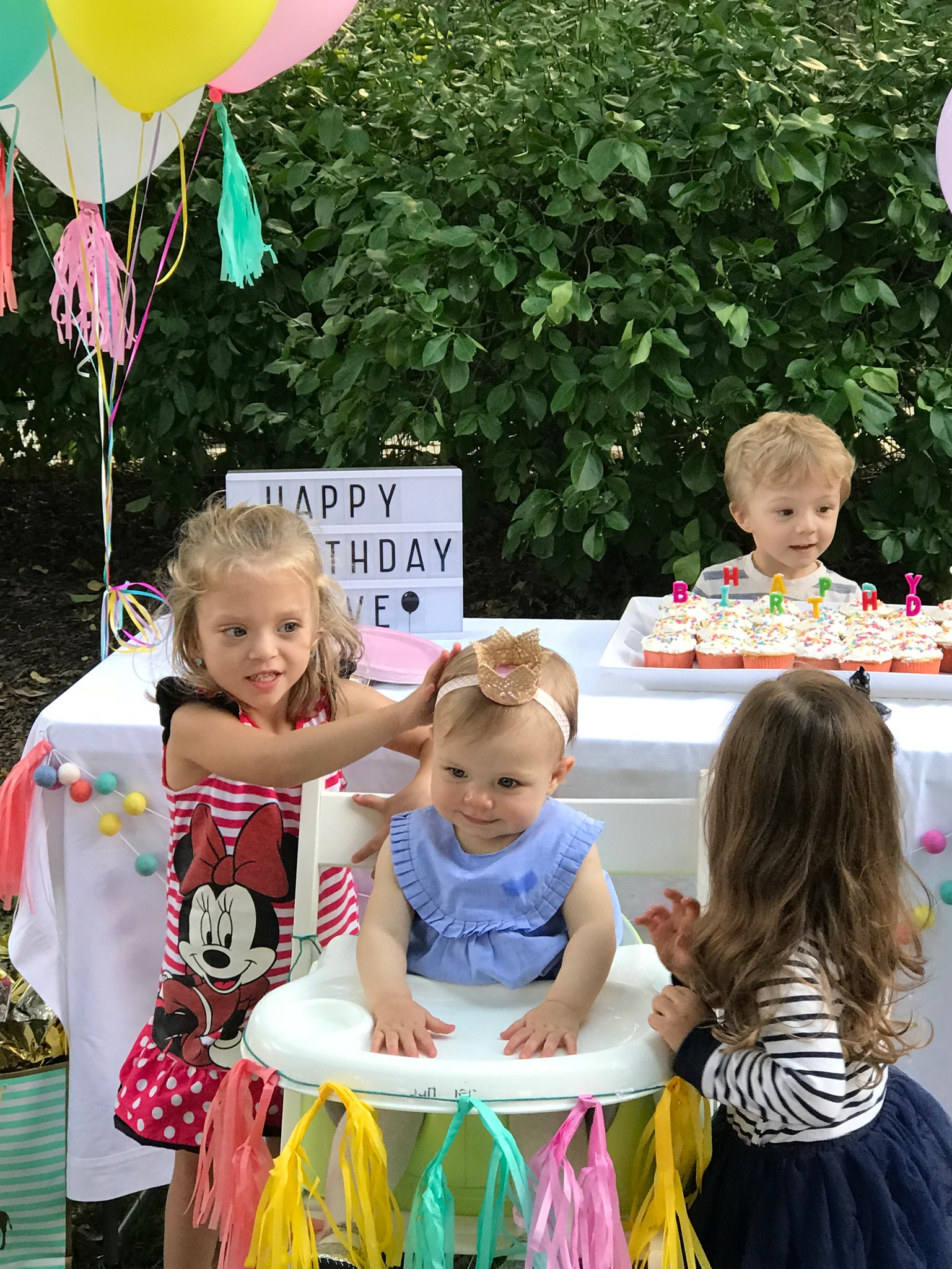 And a fun birthday party celebrating Olive turning One!!