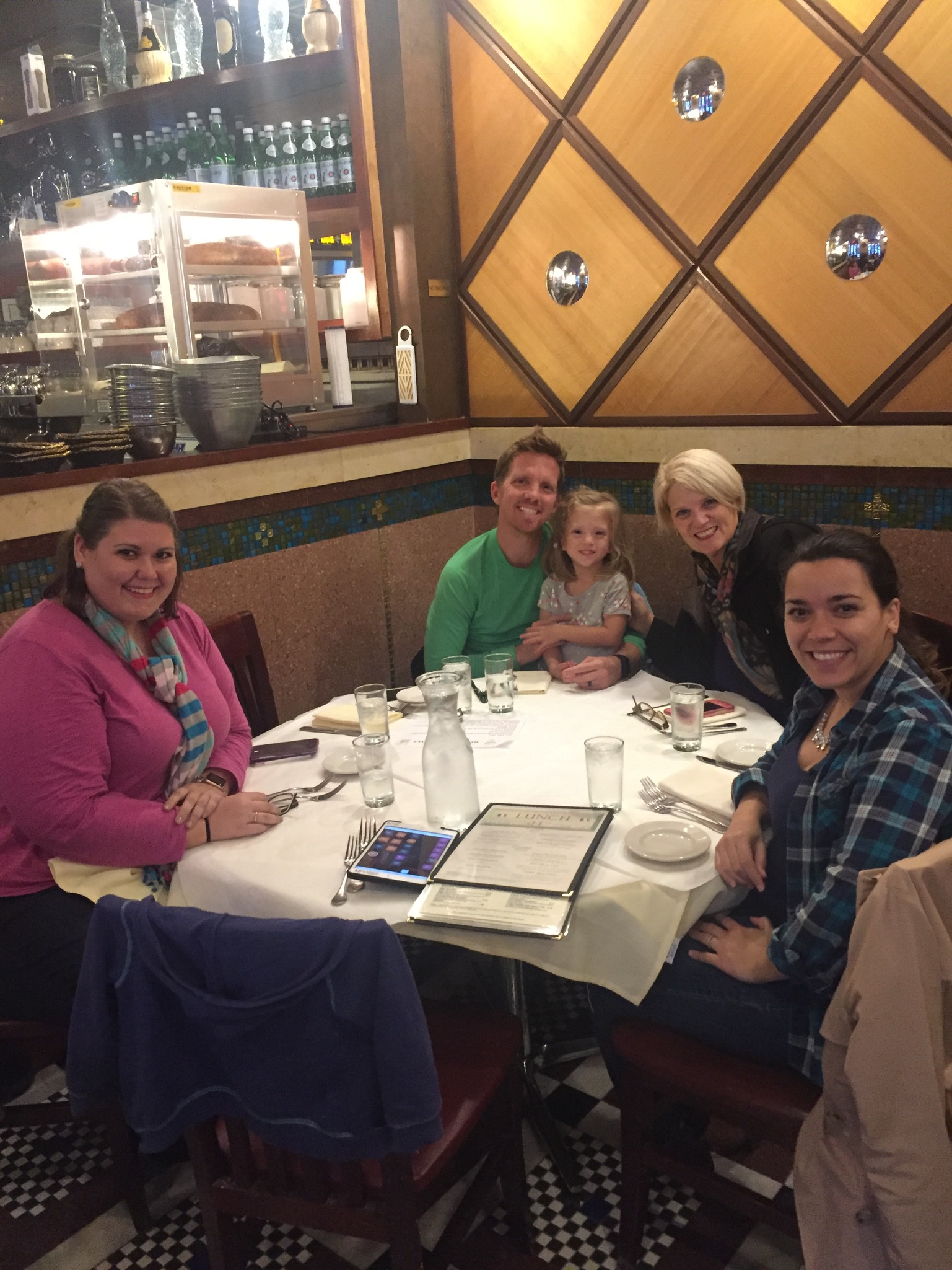 It was fun to have Tiffany and Aunt Neise in town that weekend, too. We went to Little Italy and Serendiptiy with them and had lots of tea parties at home.