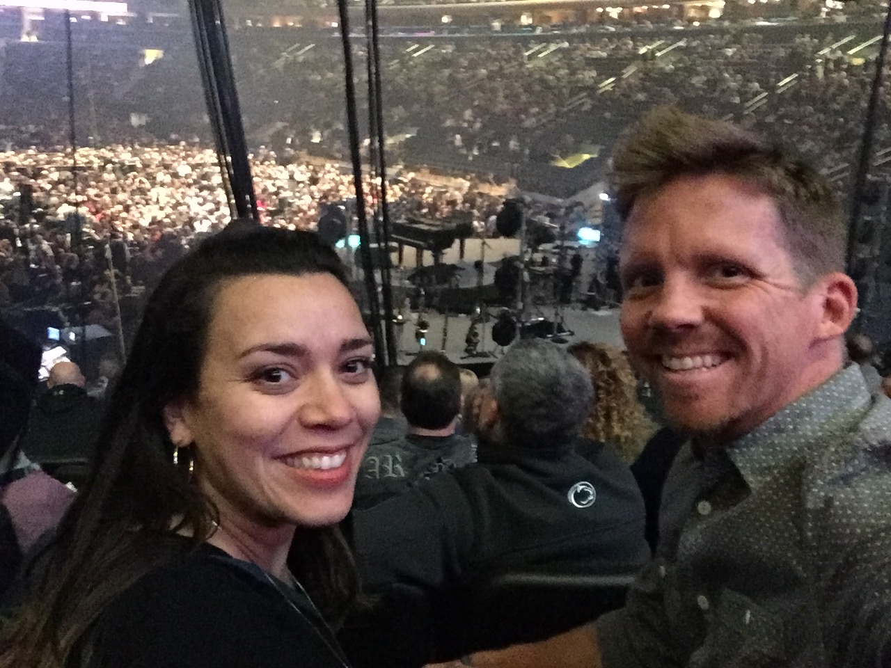 Saturday night we enjoyed a Billy Joel concert at Madison Square Garden! We sat behind the stage but the seats were great!