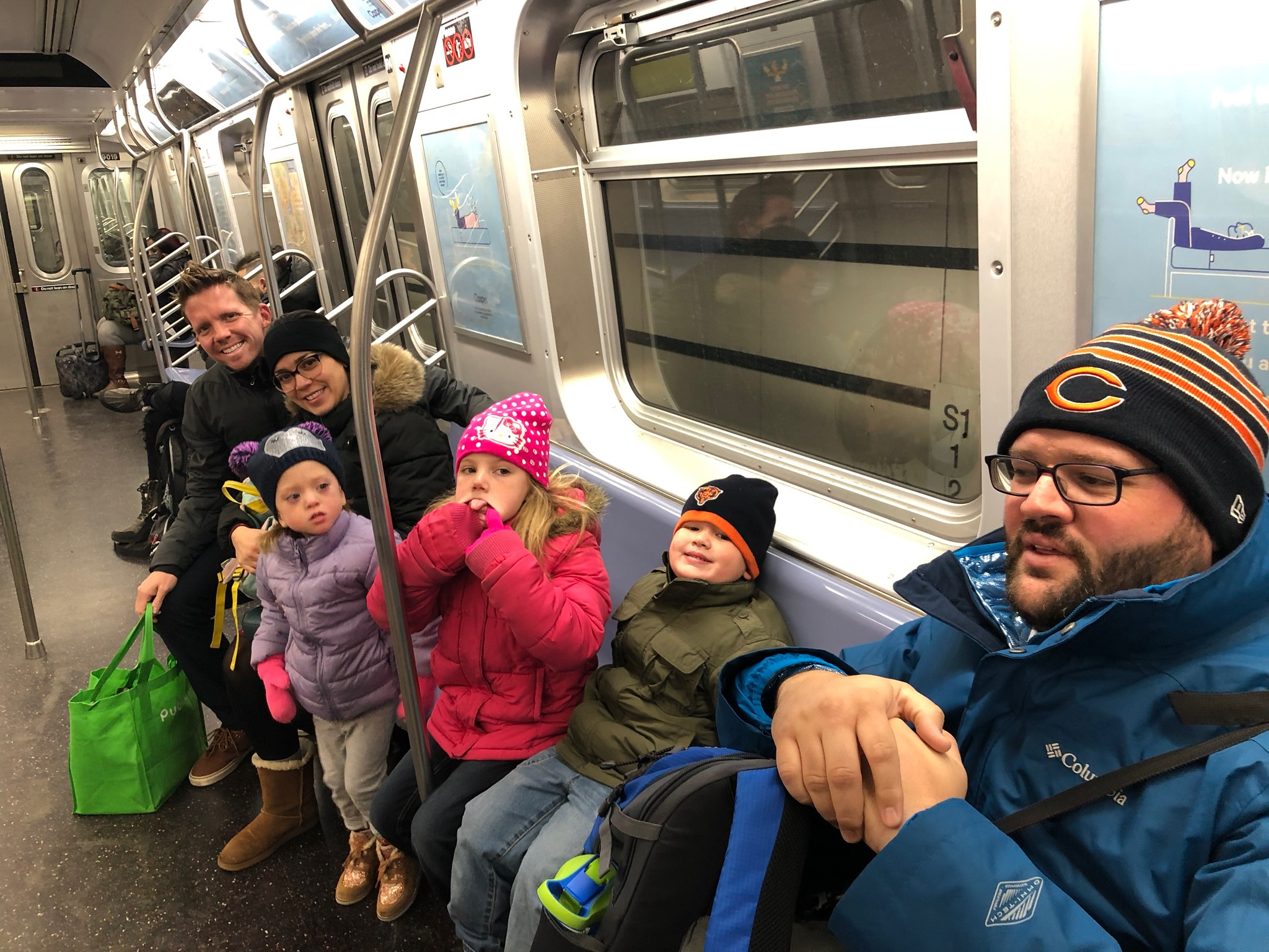Subway ride to midtown to watch the parade!