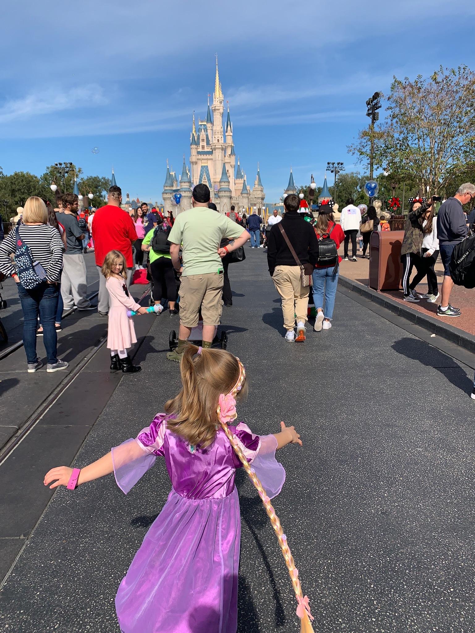 Soaking in that Disney Magic