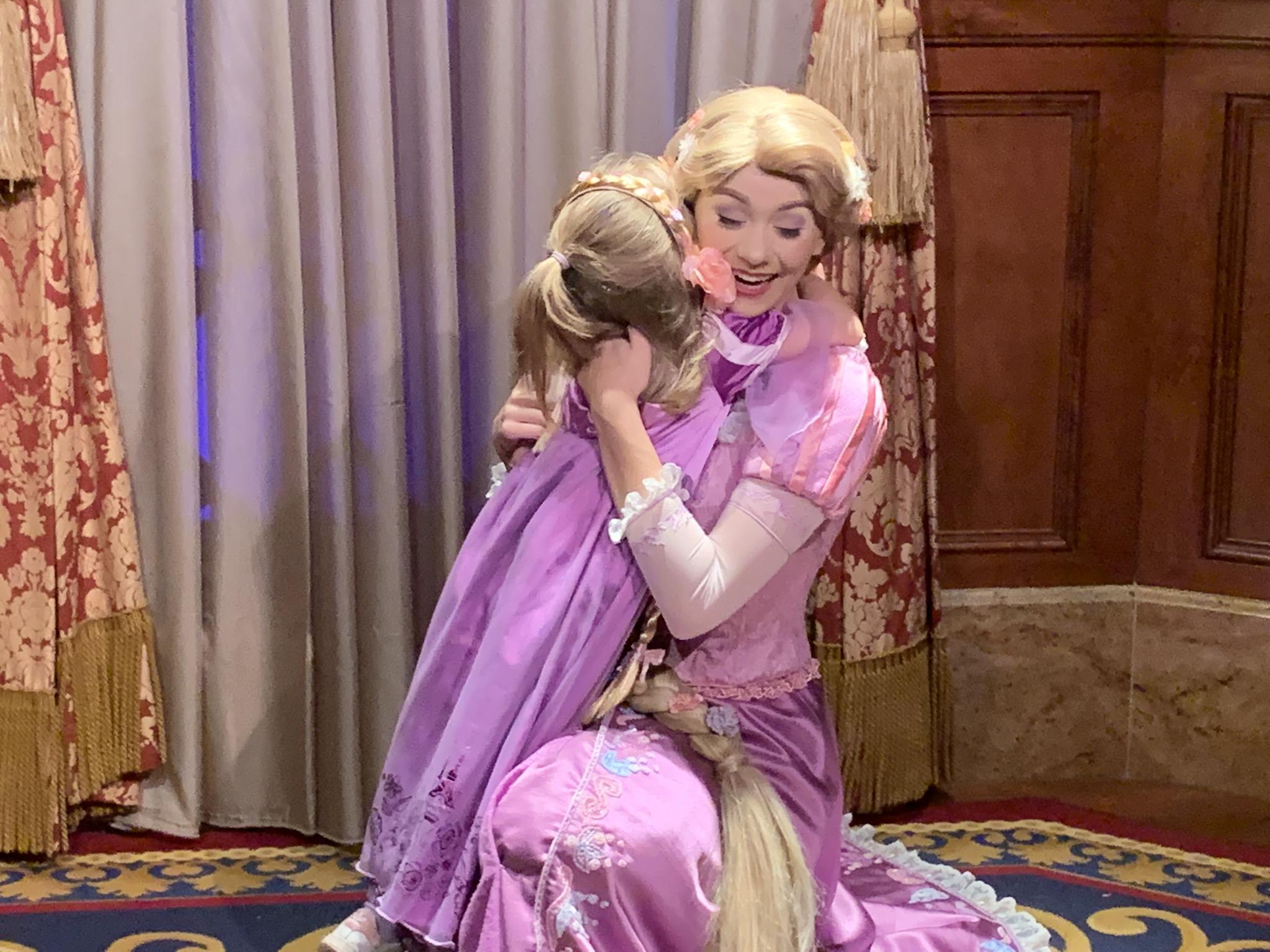 Meeting Rapunzel a highlight of the trip!