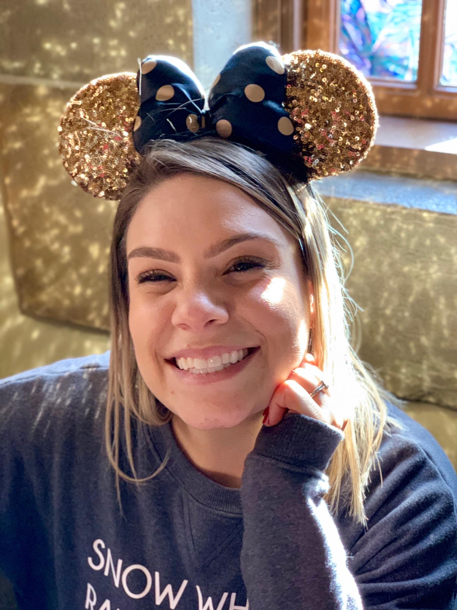 My sparkly cousin, Amanda. <3