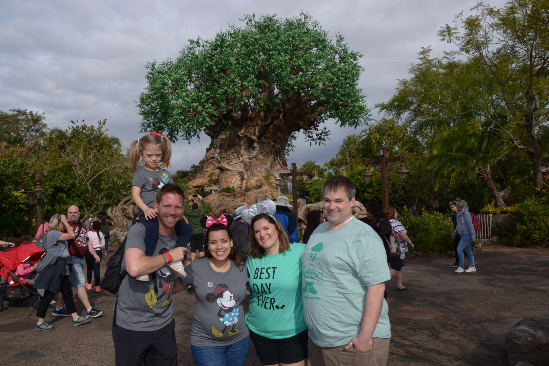 Festivities continued the next day at Animal Kingdom!